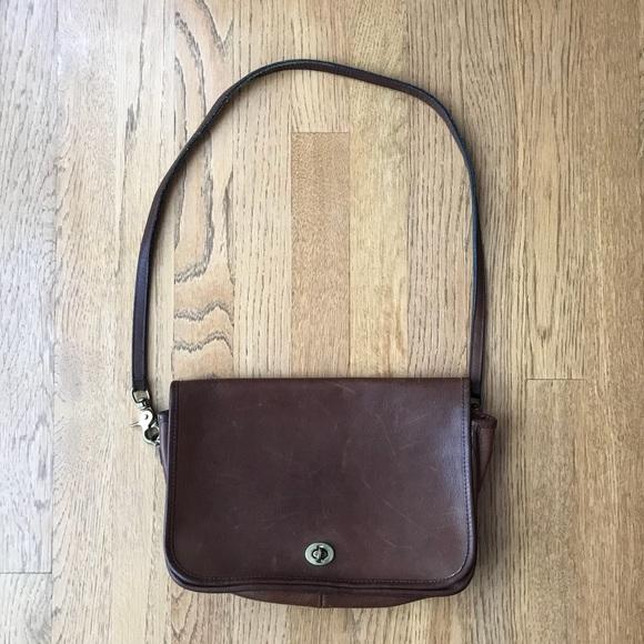 215dba4e335 Coach Bags   Vintage Crossbody Saddle Bag   Poshmark